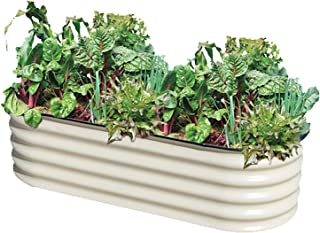 Metal Garden Box, Jungle Jane's Raised Garden Planter, 2 x 6 ft Outdoor Planter