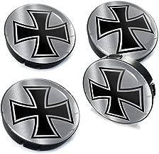 4 x 60mm Car Wheel Iron Cross Center Hub Caps C 86