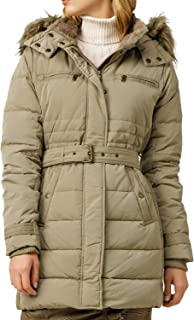 Pepe Jeans Parka Lynn Beige para Mujer