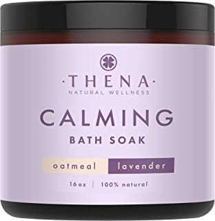 Organic Calming Bath Therapy 25-in-1 100% Natural Intense Hydrating Formula for Baby Adults with Manuka Honey Calendula Fi...