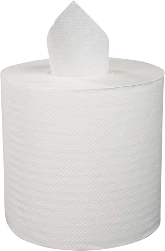 Boardwalk BWK6400 6400 Center Pull Hand Towels 2 Ply Perforated 7 7 8 X 10 600 Sheets Per Roll Case Of 6 Rolls