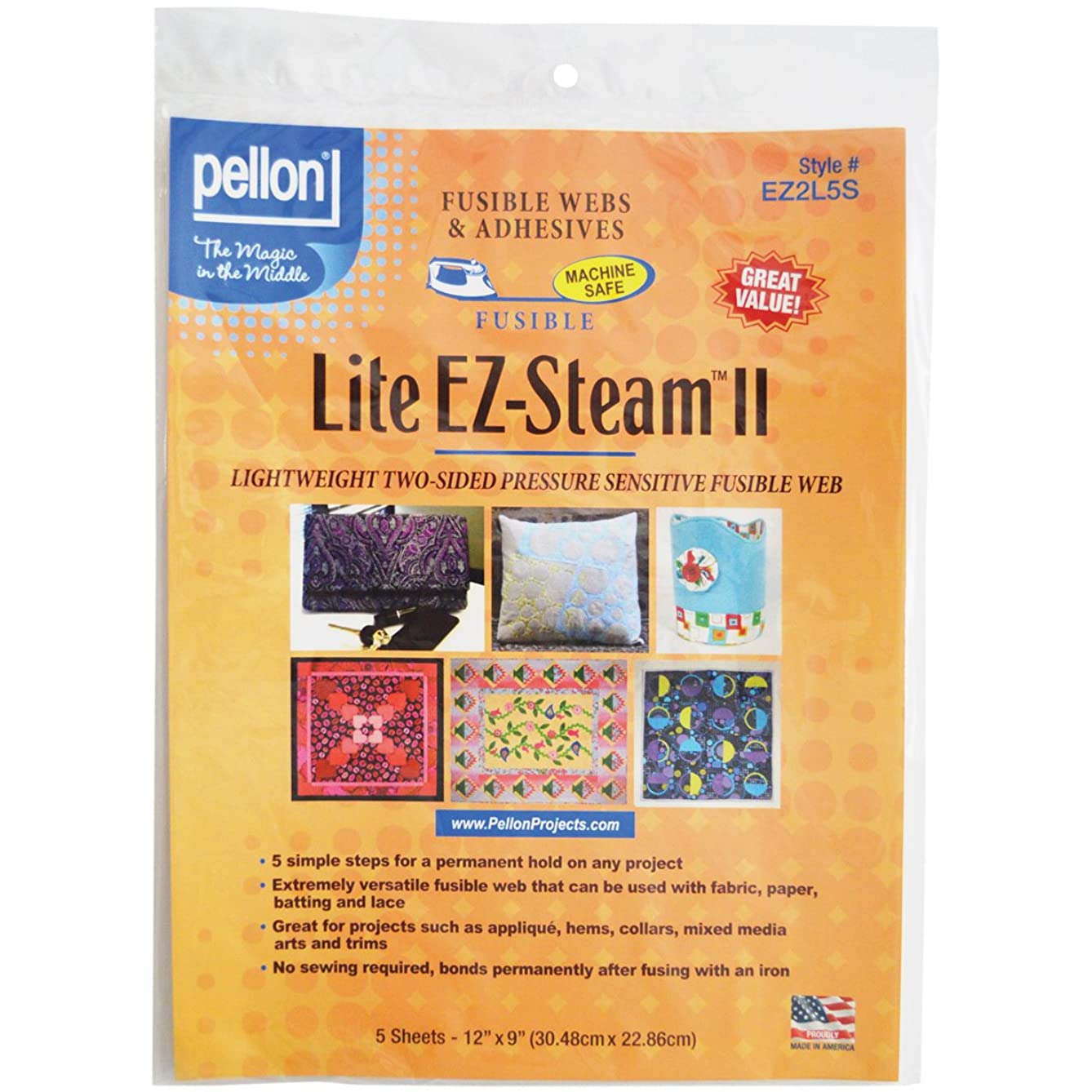 Pellon EZ Steam II Lite 12