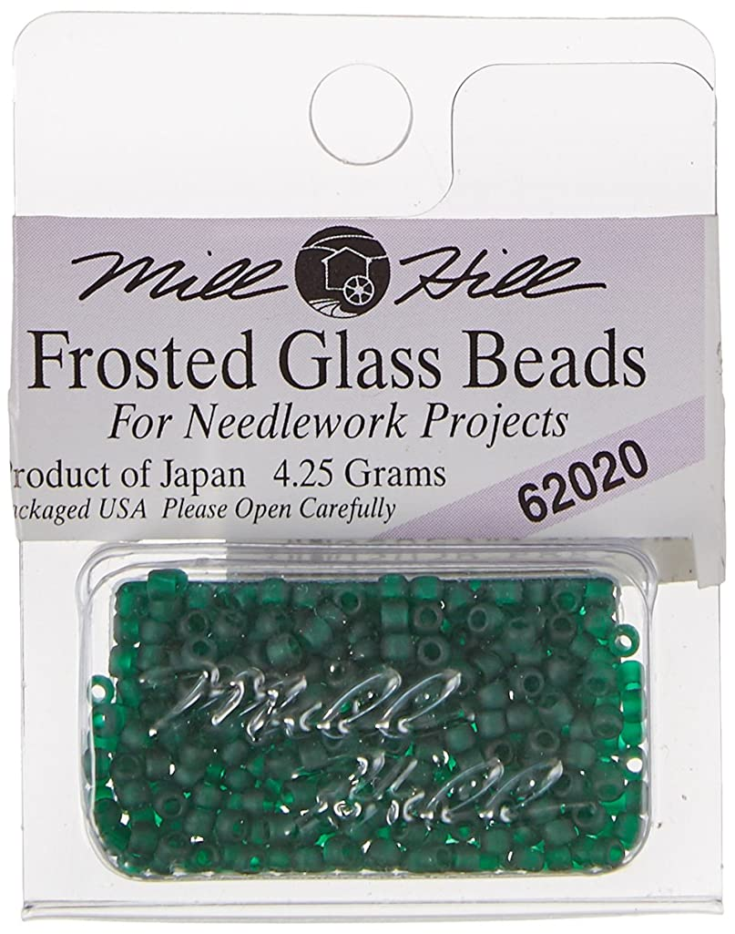 Mill Hill Frosted Glass Seed Beads, Creme de Mint