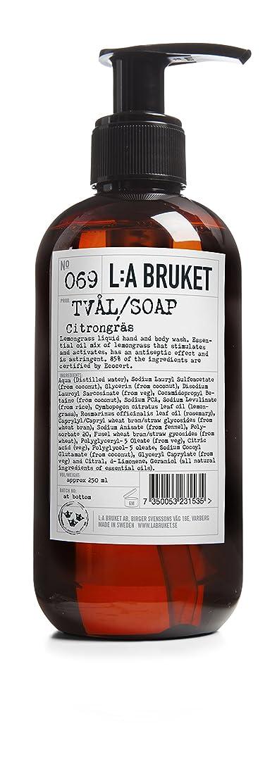 不安定な迷路協力L:a Bruket (ラ ブルケット) ハンド&ボディウォッシュ (レモングラス) 250g