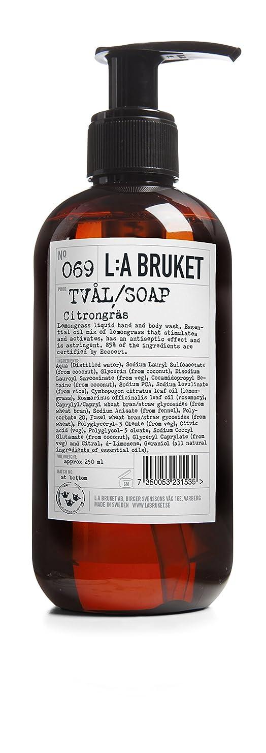 ワーカー六分儀安いですL:a Bruket (ラ ブルケット) ハンド&ボディウォッシュ (レモングラス) 250g