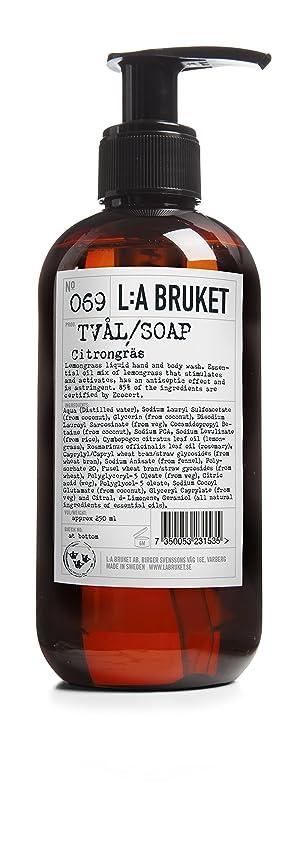 洗う急いで甥L:a Bruket (ラ ブルケット) ハンド&ボディウォッシュ (レモングラス) 250g