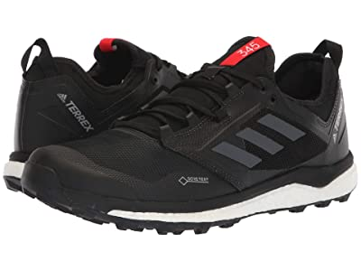 adidas Outdoor Terrex Agravic XT GTX(r) (Black/Grey Five/Hi-Res Red) Men