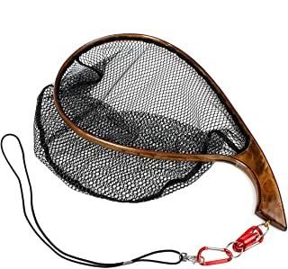 Yoomoo Fly Fishing Landing Trout Net Catch Release Net -...