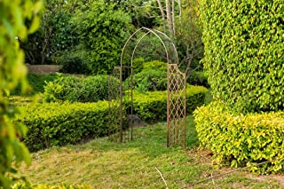 Safavieh Outdoor Collection Jaida Rustic Brown Arbor