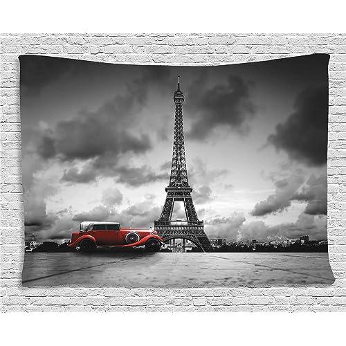 163e12edfc35 Vintage Paris Tapestry: Amazon.com