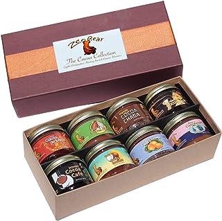 Zen Bear | Assorted Honey Cocoa Gift Box | Contains 8 3OZ Jars