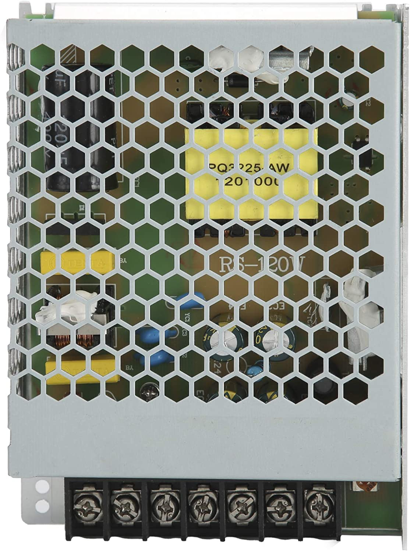 Weikeya 24v 5A Traspuesta Energía Suministro, Metal Hecho Construido-en sobretensión, sobrecorriente y Corto Circuito Proteccion Corriente Continua 24v Cambiar Energía Suministro Conductor