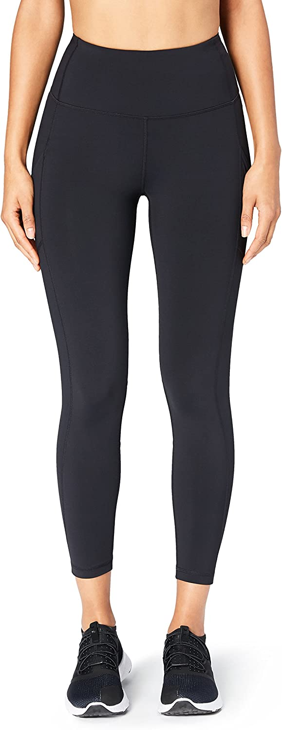 Core 10 Womens High Waist 7 8 Crop  Squeezed Leggings