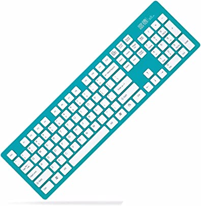 ADHOUC Silent Silent Wireless Keyboard Gr n