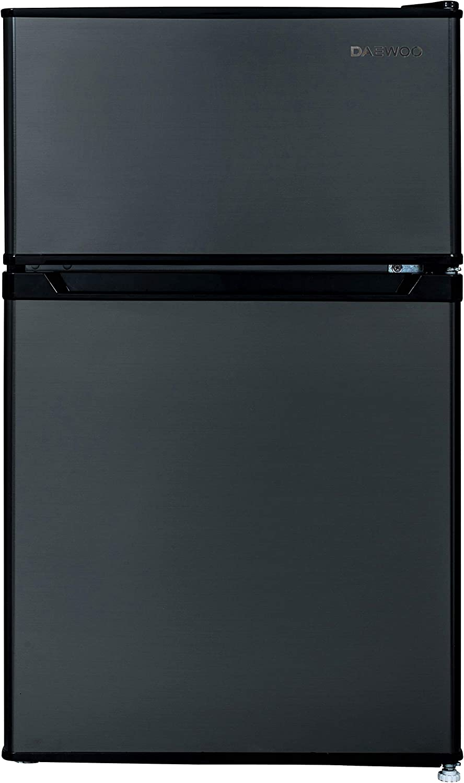Daewoo FR-016RBE Refrigerator Black 1.6 Cu.Ft Refrigerators ...