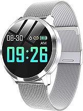 Bluetooth Smart Watch Stainless Steel Waterproof Wearable Device Watch Men and Women Fitness Tracker
