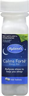 Hyland's Homeopathic Calms Forte Sleep Aid Tablets, 100 Count