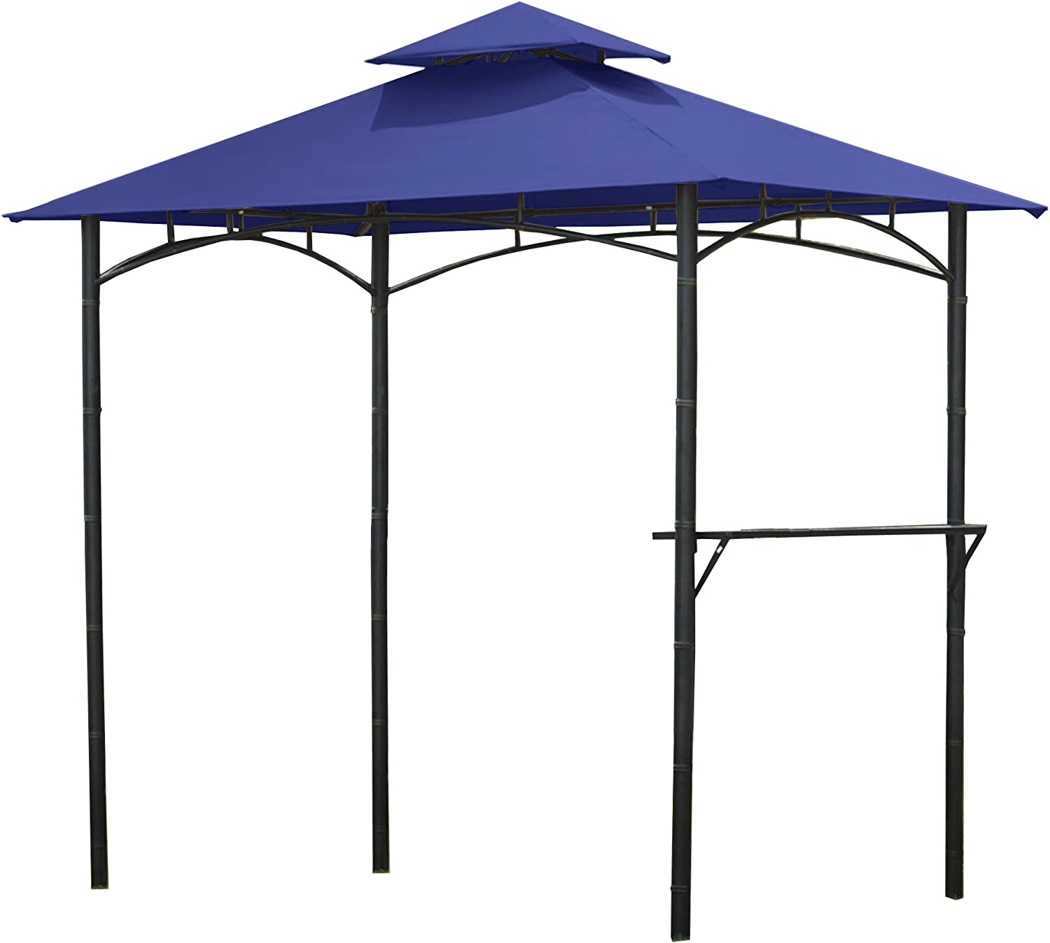 Garden Winds Replacement Canopy Top 5% OFF Bamboo for Cover Grill Look Fixed price for sale