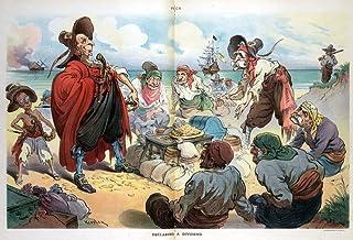 Puck Cartoon 1906 NDeclaring A Dividend John D Rockefeller And John D Rockefeller Jr Henry H Rogers Henry M Flagler Nelson...