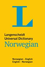 Langenscheidt Universal Dictionary Norwegian: Norwegian-English / English-Norwegian