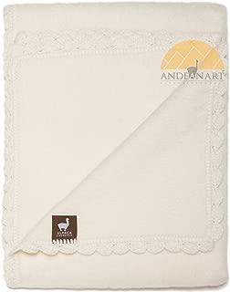 Alpaca Carrasco Alpaca Blend Baby Blanket -Super Soft Beautiful Alpaca for Baby's Delicate Skin