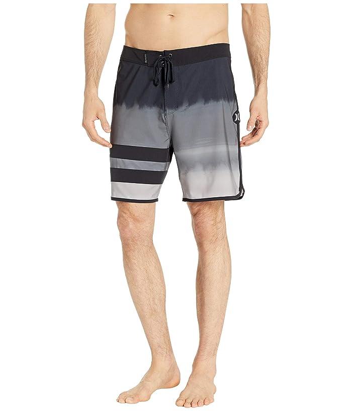 f98aebc6b0 Hurley 18 Phantom Block Party Fever Boardshorts (Black) Men's Swimwear
