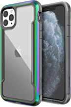 Defense Shield Series, iPhone 11 Pro Max Case - Military Grade Drop Tested, Anodized Aluminum, TPU, and Polycarbonate Protective Case for Apple iPhone 11 Pro Max, (Iridescent)