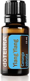doTERRA - Ylang Ylang Essential Oil - Provides Antioxidant Support, Promotes Appearance of Healthy Skin and Hair, Promotes Calming Effect and Lifts Mood; For Diffusion, Internal, or Topical Use - 15 mL