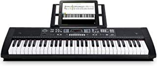 Souidmy Electric Keyboard 61 Full-size Keys with Bluetooth,