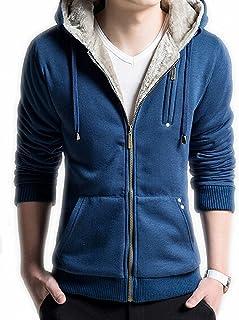Mens Novelty Hoodies Cosplay Costume Sweatshirts with Faux Fur Hood