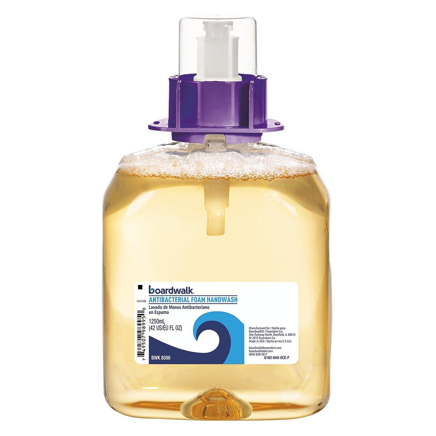 メンタル定説イタリックFoam Antibacterial Handwash, Sweet Pea, 1250ml Refill, 4 per Carton (並行輸入品)
