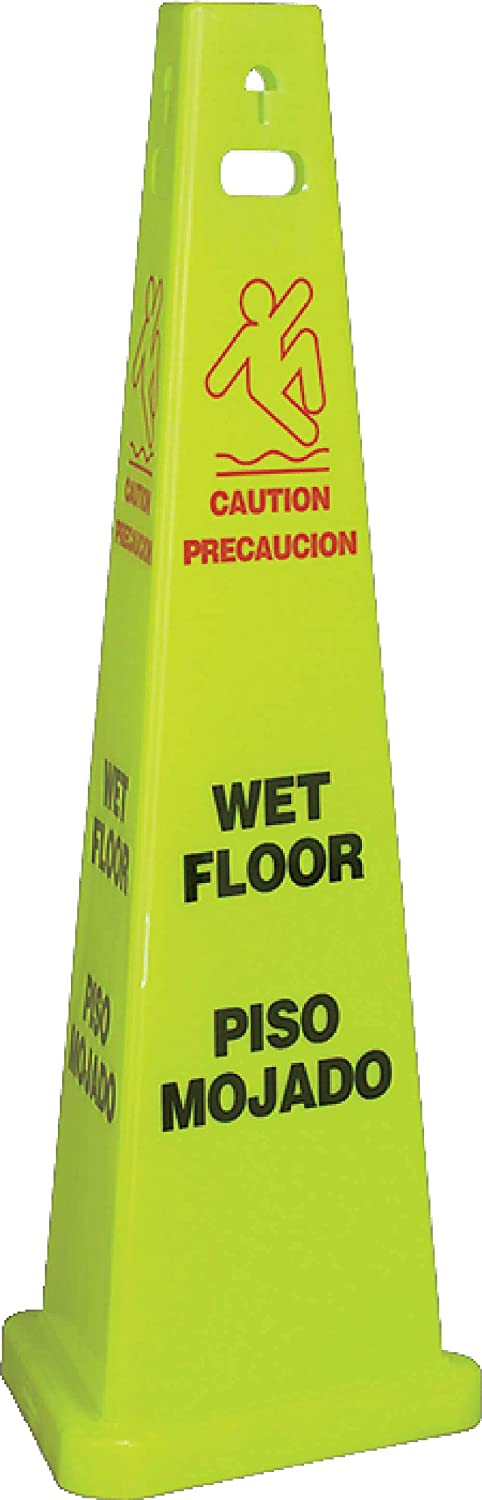 Long-awaited National Marker Corp. TFS301 Wet Max 42% OFF 3-Sided Floor Bilingual Trivu S