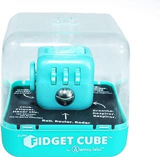 Zuru Fidget Cube by Antsy Labs - Custom Series (Glitter Tiffany Blue) Teal Glitter Fidget Cube with Teal Blue Accents