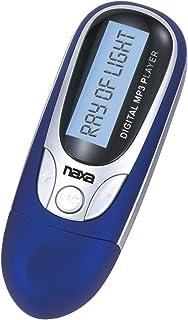 NAXA Electronics NM-105BL MP3/WMA/WAV Player with 4 GB Built-in Flash Memory, LCD Display, PLL Digital FM Radio and Built-...