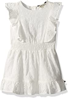 Lucky Brand Girls' Sleevless Solid Fashion Dress