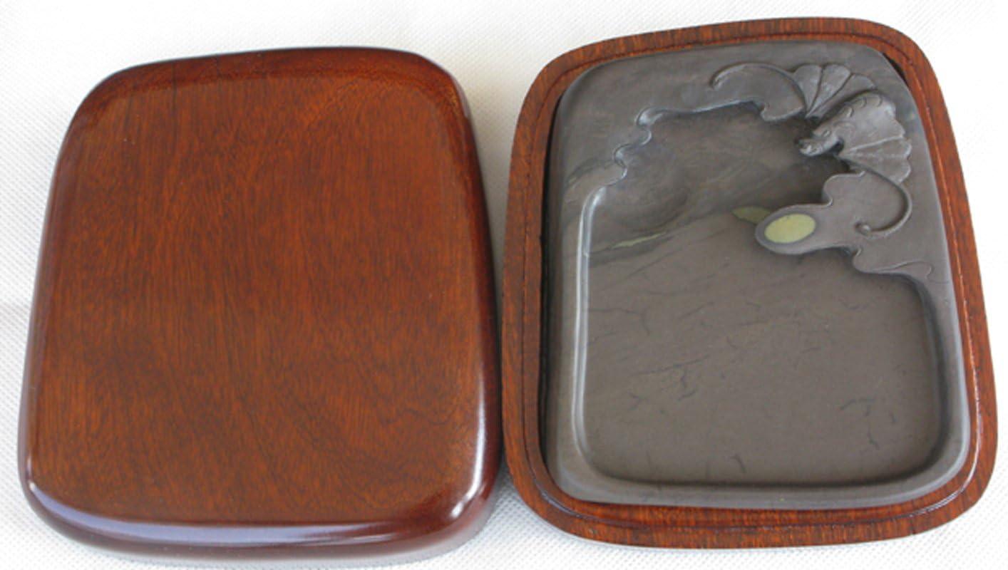 5 Outstanding Inches Genuine Duan Yan Chinese Zhaoqing Meihua Inkston Keng Ink Stone