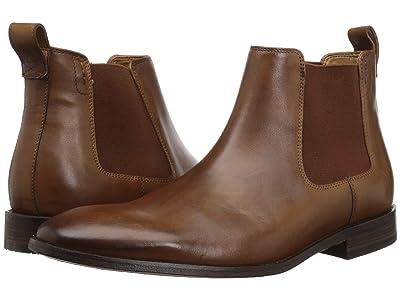 Bostonian Nantasket Hi (Dark Tan Leather) Men