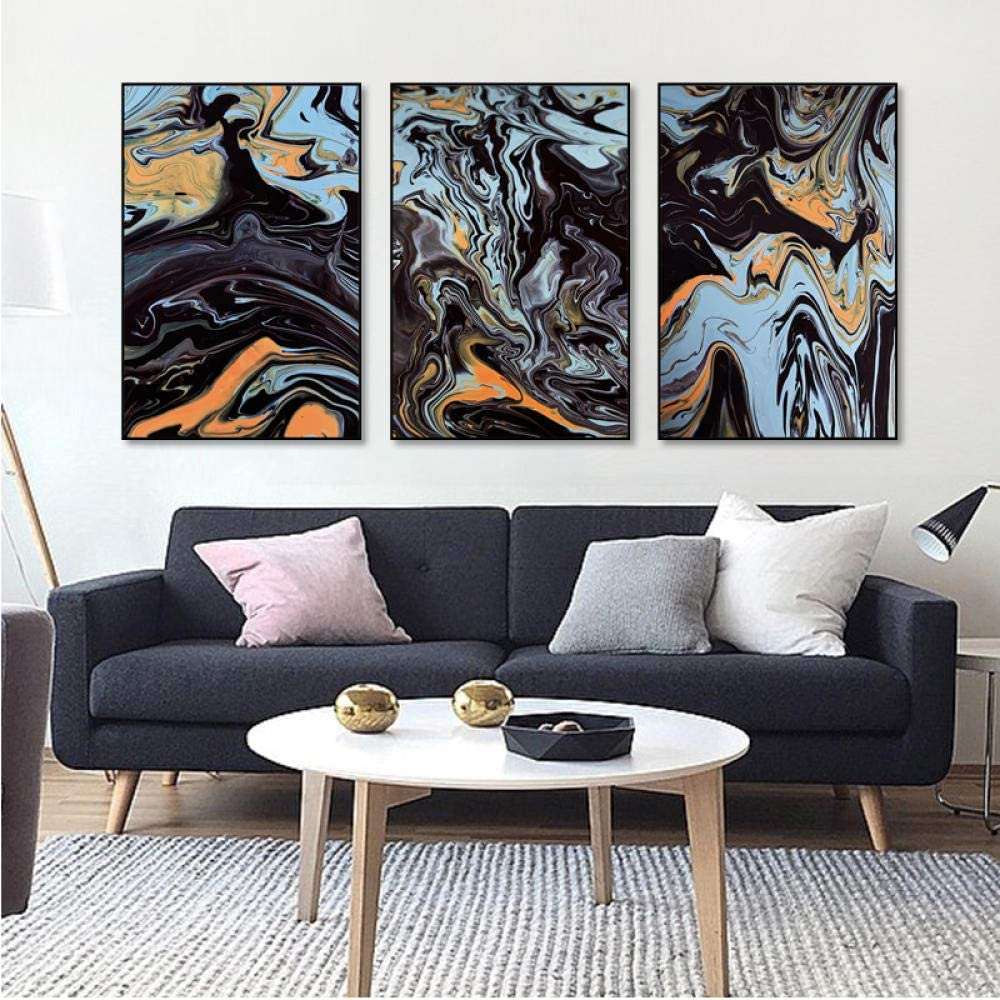 All stores are sold bajbajbaj1 Marble Regular store Abstract Canvas Geometric Painting Colo Nordic
