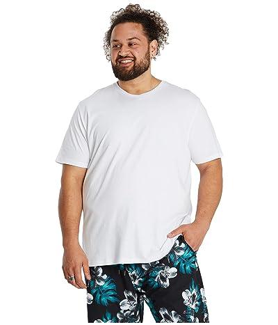 Johnny Bigg Big Tall Plain Swim Shorts (Blue) Men