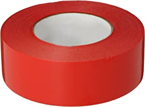 Polyken 827 Polyethylene Film Premium Grade Multi-Purpose Tape, 55m Length x 48mm Width, Red