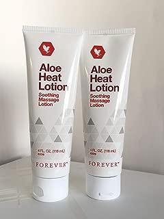 Forever Living Aloe Heat Lotion 118ml-(Pack of 2)