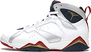 Air Jordan 7 VII Retro Olympic Edition White Gold True Red 2012 304775-135 [US Size 13]
