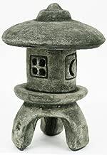 Fleur de Lis Garden Ornaments LLC Yukimi Japanese Pagoda Concrete Asian Collection Sculptures Chinese Temples