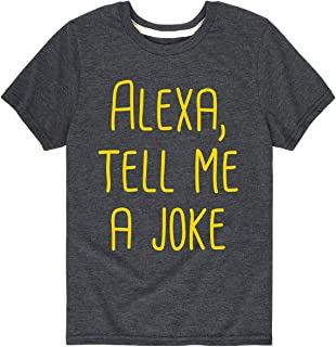 Alexa, Tell Me A Joke - Toddler Short Sleeve Tee