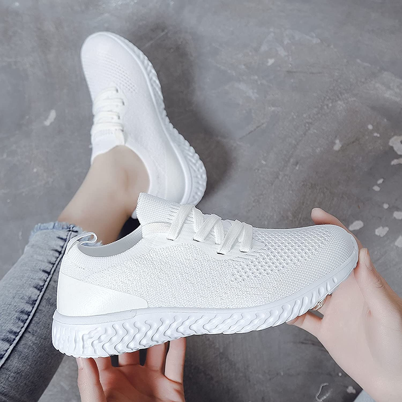 KAIXINDAJ Women's Walking Shoes Trainers Athletic Running Shoes Sport Walking Lightweight Tennis Outdoor Sneakers