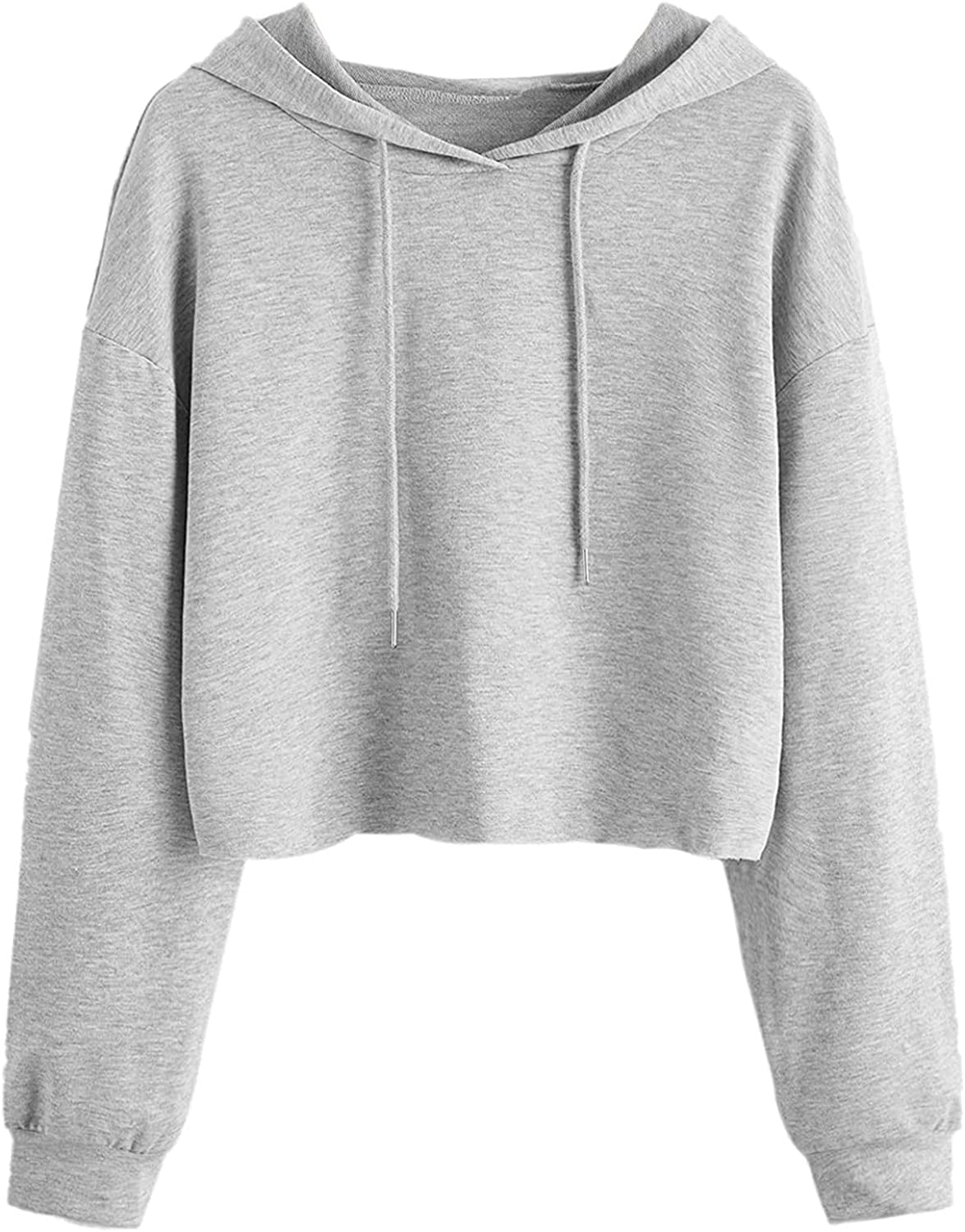 AODONG Sweatshirts for Women Fashion Long Sleeve Hoodie Soft Jumper Hooded Casual Pullover Tops Blouses