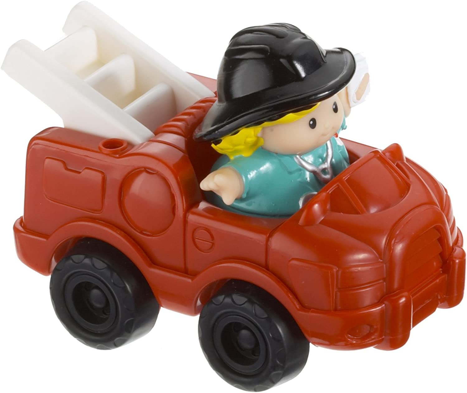 Fisher-Price Little People Figure With Fire Truck