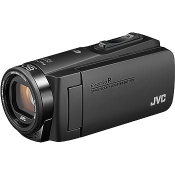 JVCKENWOOD JVC ビデオカメラ Everio R 防水 防塵 Wi-Fi 64GB内蔵メモリー マットブラック GZ-RX680-B