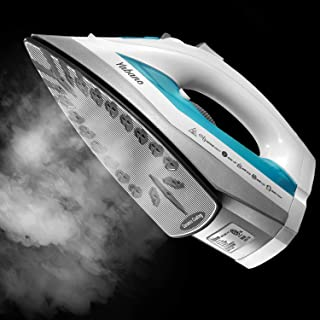 Yabano Steam Iron, Professional Iron for Variable Clothes Fabric, Anti-Drip, Anti-Calc, Variable Temperature and Steam Con...