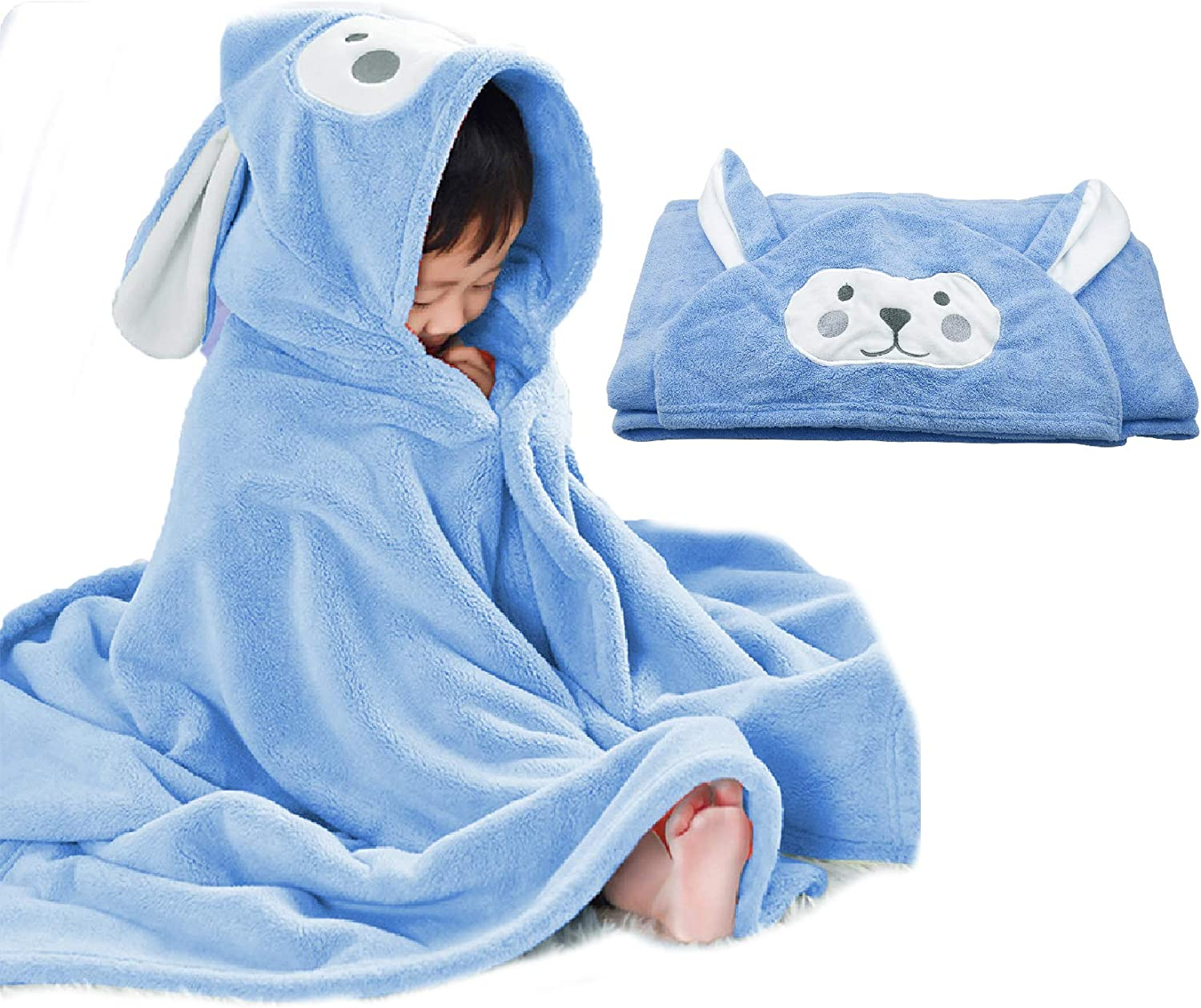 Baby Bombing new work Bath Towel Hooded Ultra Highly Bathrob Soft Indianapolis Mall Absorbent